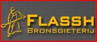 bronsgieten - logo van Flassh bronsgieterij