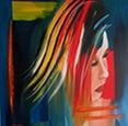 schilderijen Abstrakt-hoofd