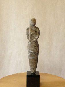 Contact formulier Aïda Beeld Steensoort : aziatisch speksteen ±26 cm hoog