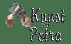 Logo Kunst van petra hakkende hand