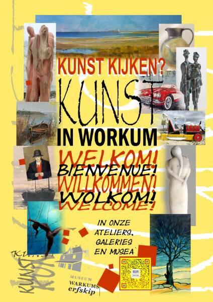 Flyer 2021 Kunst in Workum