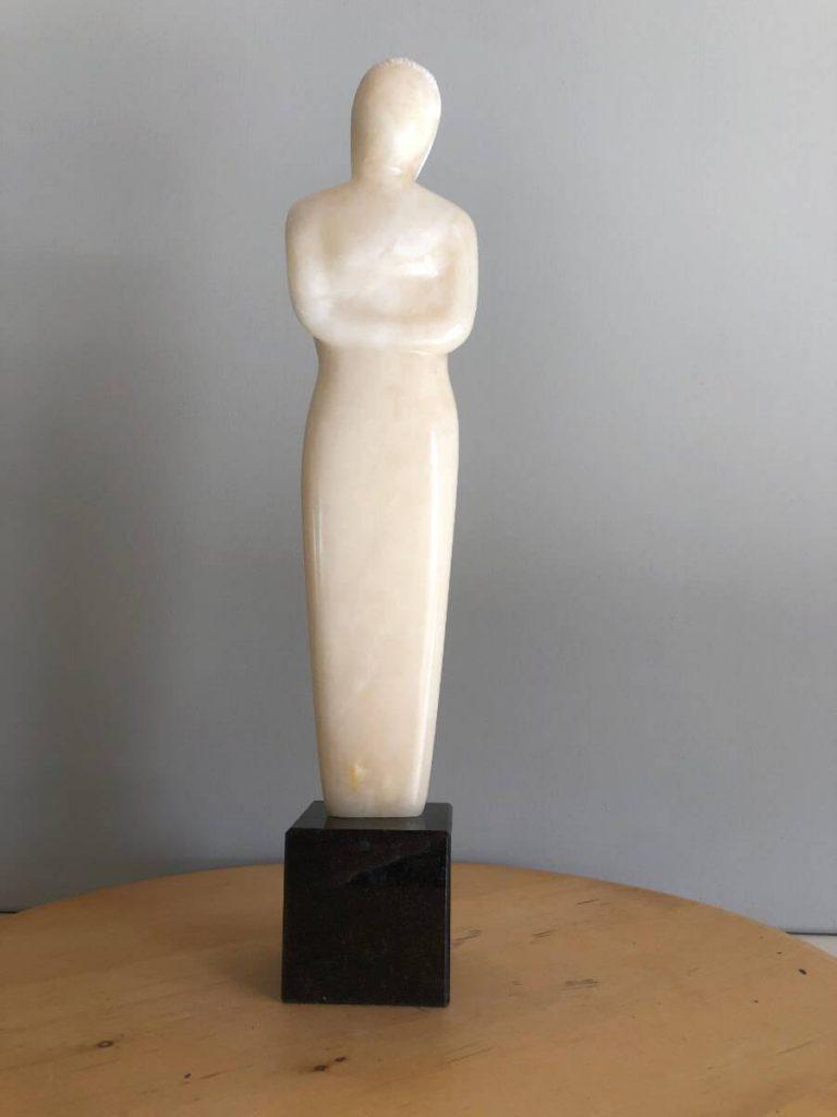 Jovita albast beeld